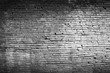 Brick wall texture or brick wall background. Closeup brick wall for design with copy space for text or image. Abstract brick wall detail. Dark edged.