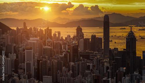 Fototapety, obrazy: Hong Kong city
