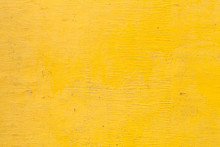 Bright Yellow Wooden Wall Text...