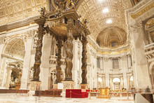 Church Interior In Vatican City