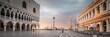 canvas print picture - Markusplatz Venedig