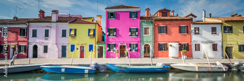 Canvastavla wonderful Burano