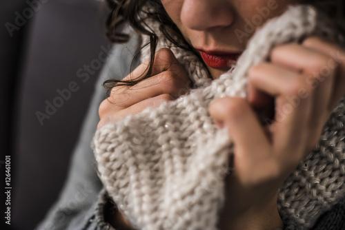 Fotografía  Ripararsi dal freddo