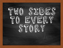 TWO SIDES TO EVERY STORY Handw...