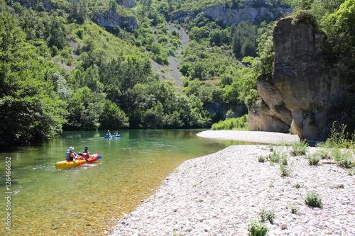 Fototapeta Canoë, Gorges du Tarn, Tarn,Lozère, France