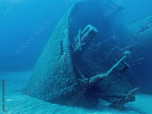Photo sur Aluminium Naufrage The Wreck