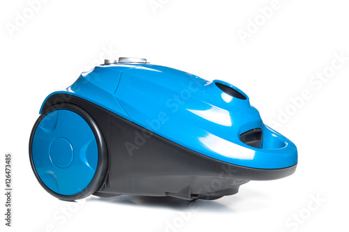 Fotobehang Cars Vacuum cleaner isolated on the white background
