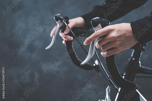 Foto op Plexiglas Fietsen ロードバイク サイクリング