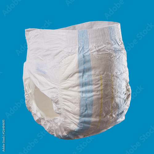 Canvastavla  diaper