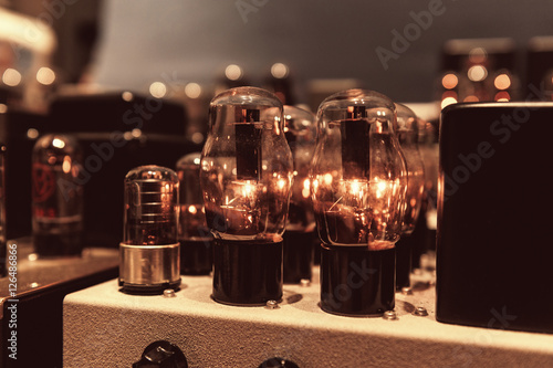Photo A tube amp