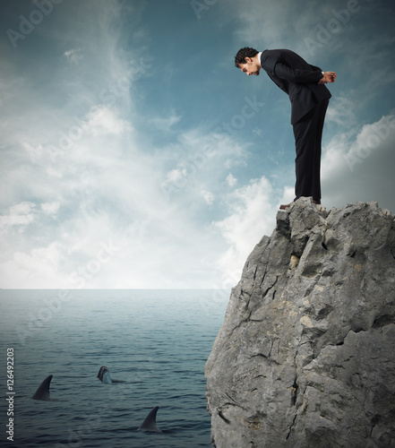 Fotografía  Assess the risk in a deal business