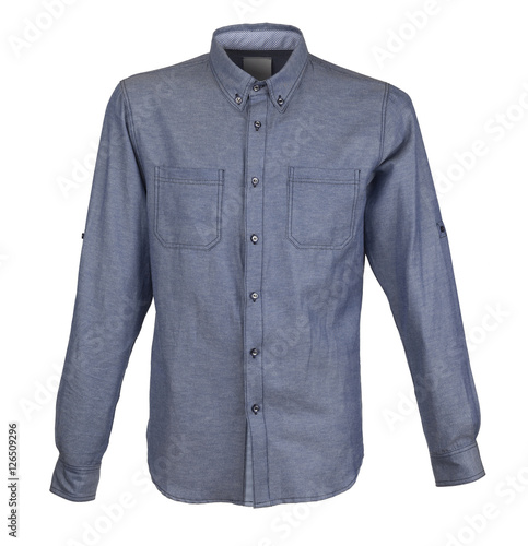 Men's shirt with long sleeves