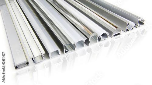 Fotografie, Obraz  Tab light aluminium profiles