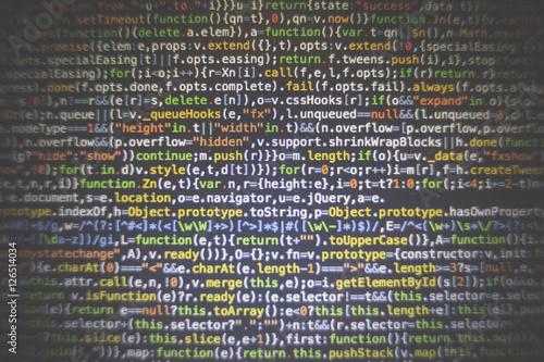 Fotografía  html php java source code