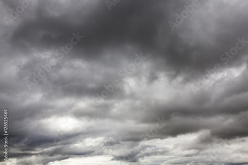 Fotomural gray clouds, cloudy weather