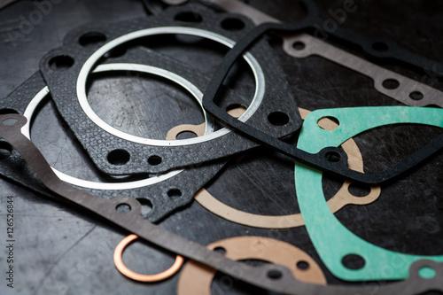 Fotografía Various engine gaskets