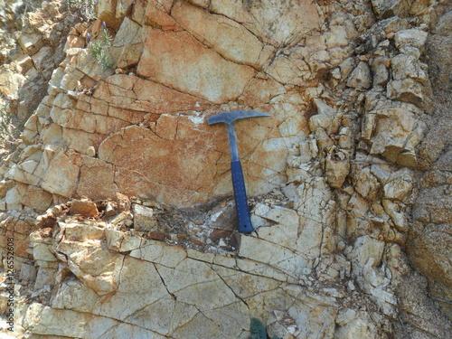 Stampa su Tela geology material