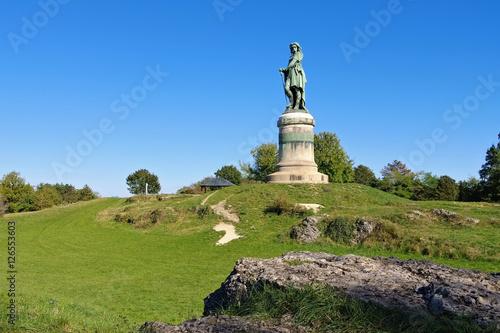 Fotografie, Obraz Vercingetorix-Denkmal - Vercingetorix monument in Burgundy