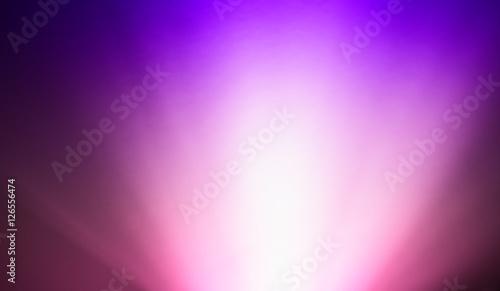 fototapeta na szkło Bottom purple pink ray of light bokeh background