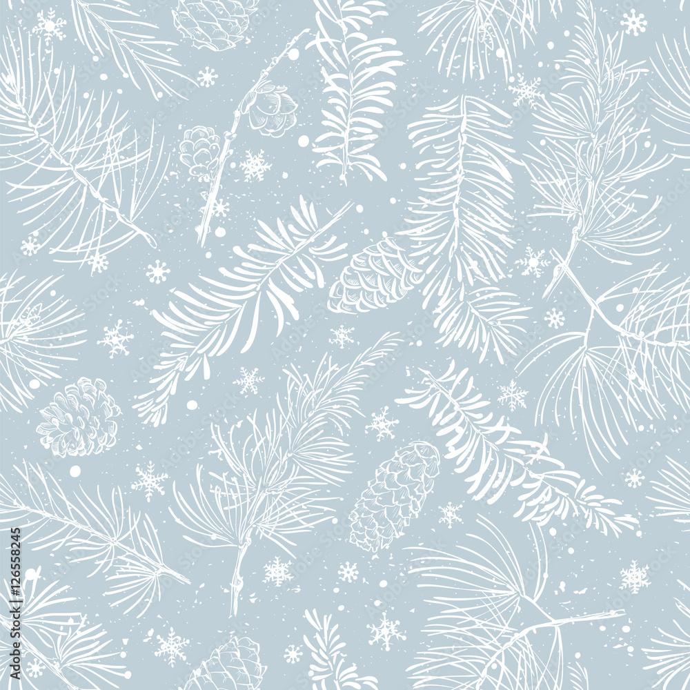 Zimowe gałęzie