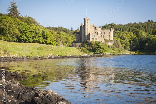 Keuken foto achterwand Noord Europa Schloss Dunvegan auf der Insel von Skye, Schottland