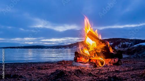 Obraz Campfire - fototapety do salonu