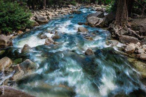 Foto op Aluminium Rivier Yosemite National Park