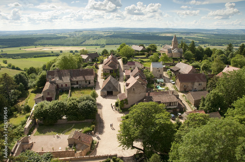 Historic French Village, Burgundy