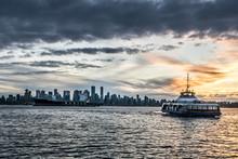 City Harbour Sunset