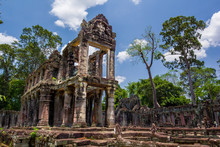 Ancient Of Prasat Preah Khan T...
