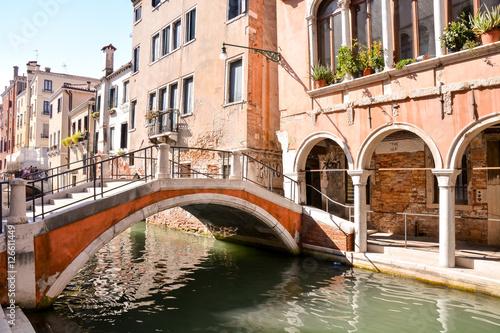 Photo  Famous Venice Italian City