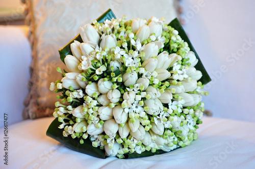 Tulipani Bouquet Sposa.Bouquet Sposa Mughetto Tulipani Buy This Stock Photo And