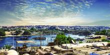 Egypt-Aswan.. Life On The River Nile..
