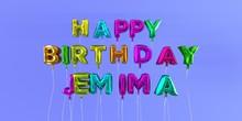 Happy Birthday Jemima Card Wit...