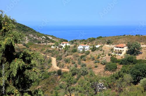 Foto op Plexiglas Cyprus Houses near the Adriatic Sea,Greece