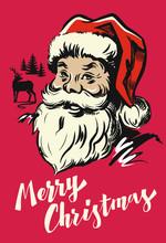 Portrait Santa Claus
