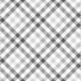 Szara diagonalna koszula w kratkę bezszwowa tkanina tekstura - 126687449