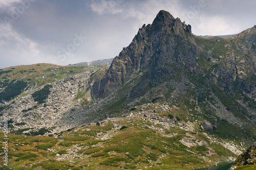 Staande foto Oceanië Rila Mountain near The Seven Rila Lakes, Bulgaria