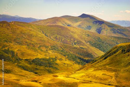 Fototapeta Beautiful mountain landscape obraz na płótnie