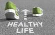 Leinwandbild Motiv The way to a Healthy Life