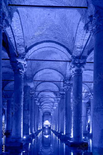 The Basilica Cistern Istanbul, Turkey