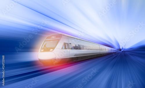 Zdjęcie XXL pociąg ekspresowy