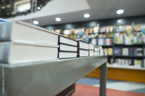 Photographie  Books in bookstore