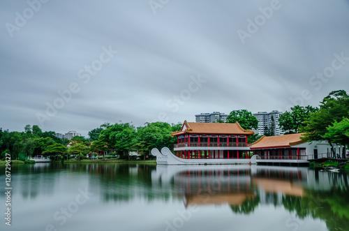 Obraz na plátne  Chinese Garden
