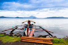 Boatride At Talisay Batangas Philippines 5154
