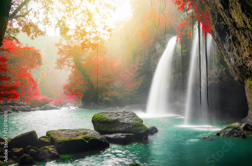 Heo Suwat Waterfall Wallpaper Mural