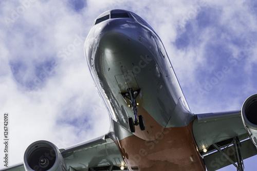 Fotografia  青空と飛行機