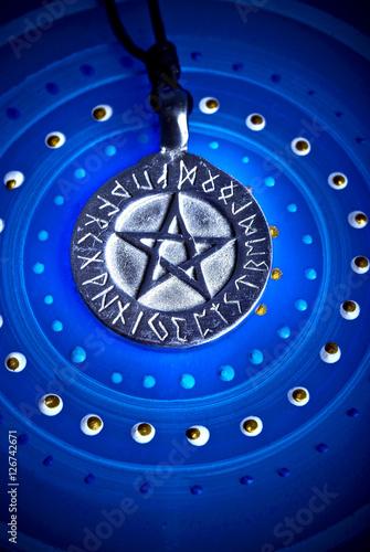 Photo  Magic pentagram