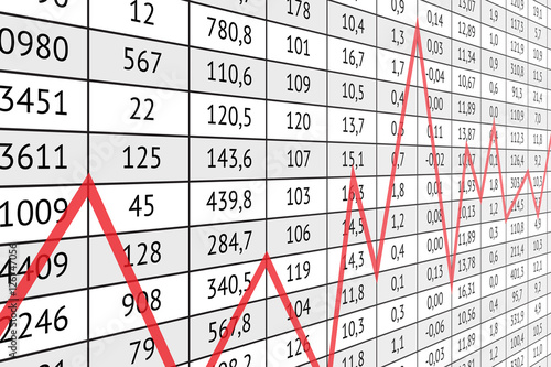 Cool Table With Numerical Data And Red Graph Line Buy This Download Free Architecture Designs Scobabritishbridgeorg