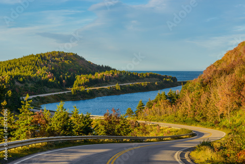 Leinwand Poster Cabot Trail Highway